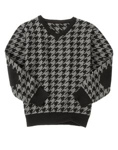 Houndstooth Sweater at Gymboree