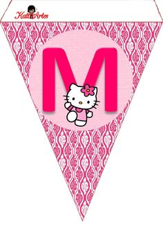 Hello Kitty Free Printable Bunting Banderines De