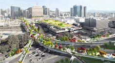 Seoul sky garden by MVRDV
