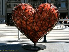 San Francisco hearts public art project