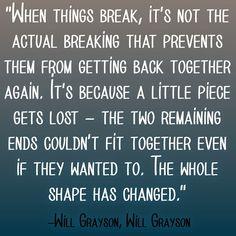 Will Grayson, Will Grayson.