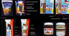 Es soll Menschen geben, die Nutella sogar löffeln. Wenn sie wüssten, welche Inhaltsstoffe es genau enthält, würde selbt ihnen schlecht werden. Eine Grafik führt uns vor Augen, was in Milchschnitte, Schokoriegel und Co. wirklich steckt.