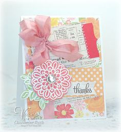 Diva Dare Thanks by CharmWarm - Cards and Paper Crafts at Splitcoaststampers