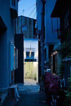 Image 36 of 38 from gallery of Shoji Screen House / Yoshiaki Yamashita. Photograph by Eiji Tomita Semi Detached, Detached House, Shoji Screen, Screen House, Osaka, Minimalism, Floor Plans, Architecture, Gallery