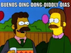 Mexican Flanders haha i need to say hello to people like this now