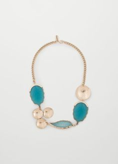 Mixed piece necklace