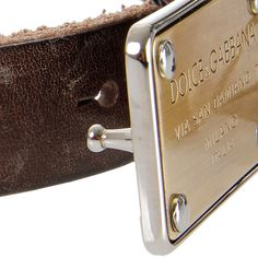 f1bf8a660a3 Buy Dolce   Gabbana Leather Belt Vintage Effect at outlet price on Glamood.  The best men Dolce   Gabbana Leather Belt Vintage Effect offer for your  classy ...