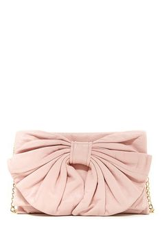 RED Valentino Convertible Leather Bow Clutch by MSA Haute Couture Inc. on @HauteLook