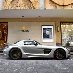 """""""MB SLS AMG Black Series Follow @sgcaraddicts for more pics! Upload your best photos to www.MadWhips.com to be featured!"""""""