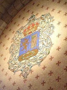 Stemma nobiliare - Catedral de la Almudena - Madrid