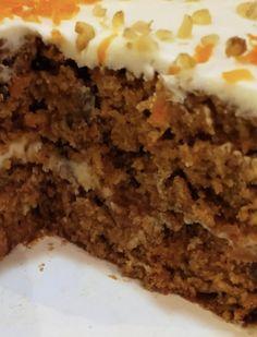 Homemade Carrot Cake, Easy Carrot Cake, Moist Carrot Cakes, Sweet Carrot, Carrot Cake Recipe Without Nuts, Easy Cake Recipes, Sweet Recipes, Dessert Recipes, Desserts
