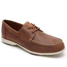 BuyRockport Summer Sea Boat Shoes, Caramel, 7 Online at johnlewis.com