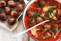 Tomato, Fennel And Meatball Soup Recipe - Taste.com.au