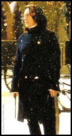 Alan Rickman as Snape Professor Severus Snape, Snape Harry Potter, Harry Potter Severus Snape, Severus Rogue, Harry Potter Love, Harry Potter Universal, Harry Potter Fandom, Harry Potter Characters, Harry Potter World