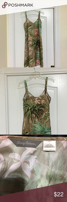 Tommy Bahama Dress Never worn ...great vacation dress. Tommy Bahama Dresses