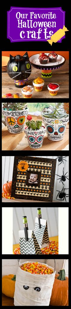 Boo! A few of our favorite Halloween projects for decorating and entertaining. Click thru for tutorials for all the projects.