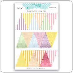 Pretty Little Studio: Hopscotch Collection Reveal: Garland Flags
