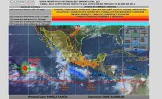 Prevé SMN 60% de probabilidad de chubascos con tormentas fuertes en Chihuahua | El Puntero