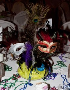 Table Centerpieces I Want To Make For My Masquerade Party