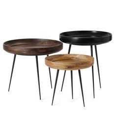 Svenssons i Lammhult - Möbler - Småbord / Bowl bord / L, natur L 4030:-  S 2700:-