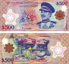 Brunei 500 dolares