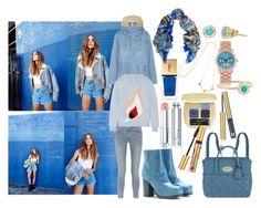 """Blue Flame"" by brownish ❤ liked on Polyvore featuring Steve J & Yoni P, Acne Studios, rag & bone, STELLA McCARTNEY, Mulberry, Dolce&Gabbana, Estée Lauder, Christian Dior, Yves Saint Laurent and Michael Kors"