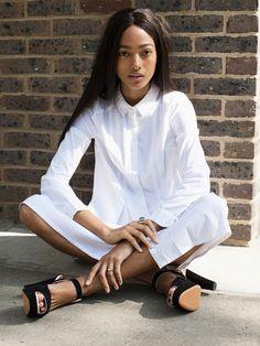 white shirt dress #pixiemarket #fashion #womenclothing @pixiemarket