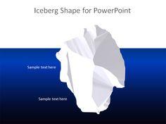 Free Iceberg PowerPoint Template   Free PowerPoint Templates   SlideHunter.com