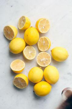 Les citrons.
