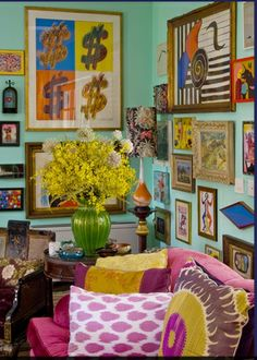 Love it, nothing matches..........  k  (the genius of Sig Bergman, via Dwellers Without Decorators: March 2011)