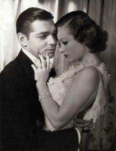 "Clarke Gable & Joan Crawford ""Dance, Fools, Dance"", 1931"
