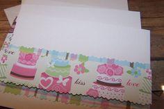 Wedding Cake Cards. Handmade Cards. Celebration by 1OfAKindCrafts