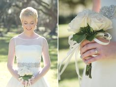 Soft Modern Bridal Session in Louisiana | Images by Catherine Guidry Photography | Via Modernly Wed | 04