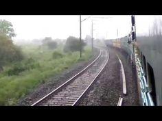 BEAUTIFUL TRAIN IN BEAUTIFUL RAIN - YouTube Railroad Tracks, Scene, Train, Youtube, Beautiful, Strollers, Trains, Youtube Movies