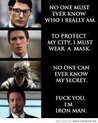 I'm Iron Man!