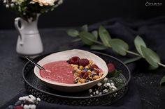 Himbeer Smoothie Bowl Smoothie Bowl, Acai Bowl, Breakfast, Food, Raspberries, Acai Berry Bowl, Recipes, Morning Coffee, Essen