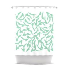 Kess InHouse Project M Shoe Mint Shower Curtain, 69 by 70-Inch by Kess InHouse, http://www.amazon.com/dp/B00E1YN4TK/ref=cm_sw_r_pi_dp_gdrgsb13VFS8H
