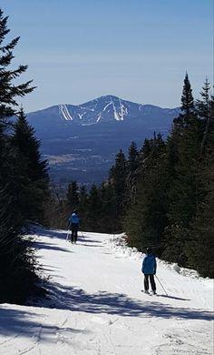 Vue, Jay Peak, mars 2016 Quebec Province, Jay Peak, Mount Rainier, Mars, Skiing, Photos, Mountains, Nature, Travel