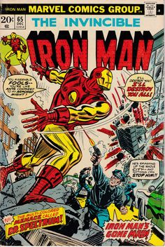 Iron Man 65 December 1973 Issue  Marvel Comics  by ViewObscura