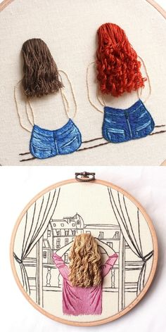Etsy Shop Feature on So Super Awesome . Etsy Shop Feature on So Super Awesome # Embroidery hoop Hand Embroidery Videos, Embroidery Stitches Tutorial, Creative Embroidery, Simple Embroidery, Hand Embroidery Stitches, Embroidery Hoop Art, Ribbon Embroidery, Floral Embroidery Patterns, Hand Embroidery Designs