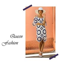 Be the Summer Queen ~ by Queen Fashion  #queenfashion #summer #collection #dress