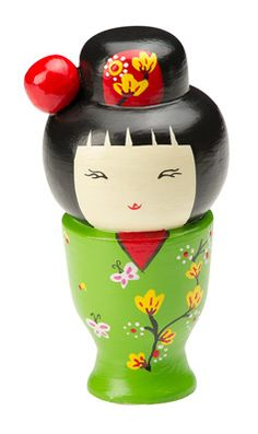 Kokeshi doll!!  We collected so many of these while living in Japan.  Love them so much!!