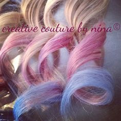 Cotton candy queen hair extension by candyapplelocks on etsy tie pmusecretfo Images