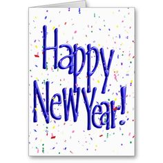 New Year Greeting Cards on Pinterest | Happy New Year Text, Happy New ...