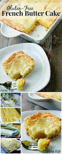 Gluten-Free French Butter Cake - cake, cookie, dessert, recipes, vanilla