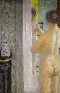 Pierre Bonnard - The Dressing Room, 1921 (Musee d'Orsay Paris France) at Pierre Bonnard: Painting Arcadia Exhibit Legion of Honor Museum of Fine Arts San Francisco CA   by mbell1975