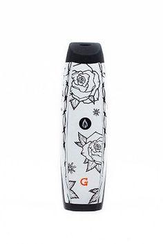 This version of the much-loved G-Pen was designed by L.A. artist Natalie Wood. Don't worry, there's a microG version too.  #refinery29 http://www.refinery29.com/cool-bongs-glass-pipes-for-weed-accessories#slide-21