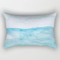 The Taste of Salt on Your Skin Rectangular Pillow by Tessa San Diego Art Accent Decor, Your Skin, Watercolor Art, San Diego, Salt, Design Inspiration, Throw Pillows, Room, Bedroom