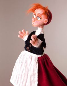 Glove puppets | Figurenschneider – Puppenbau & Figurenbau Norman Schneider Walk-Acts --- Great for inspiration ideas