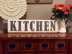 reclaimed wood sign, handmade antique sign, homemade pie vintage
